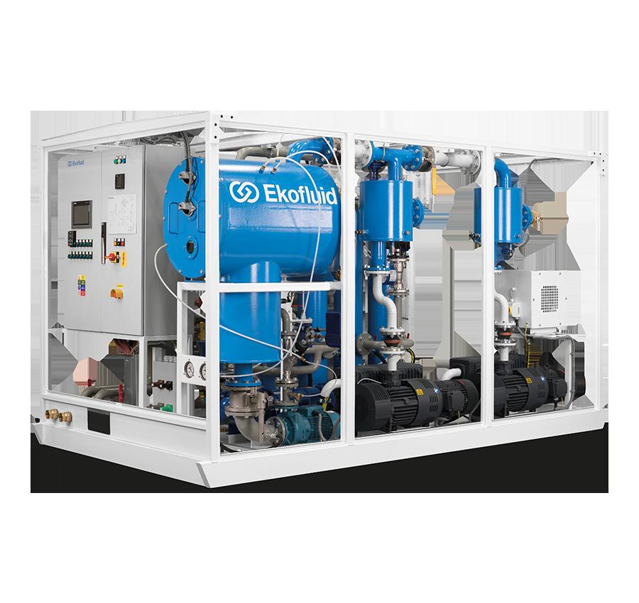Transformer Oil regeneration plant REOIL M | Ekofluid