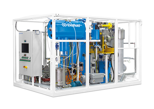 Compact transformer oil regeneration plant - REOIL S