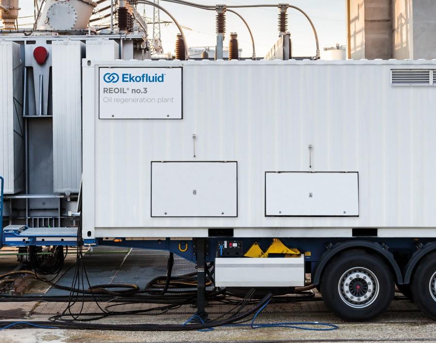 Transformer oil treatment